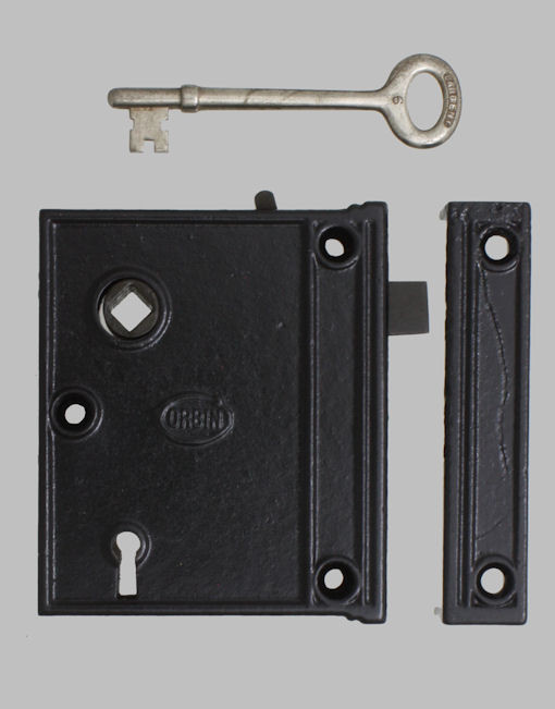 Corbin Cast Iron Rim Lock Sets American Historic Hardware